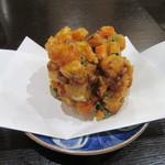 東風庵 - 独特の「野菜かき揚げ」