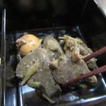 東風庵 - 「鶏レバーワイン煮」