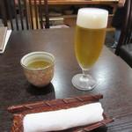 東風庵 - 生ビール