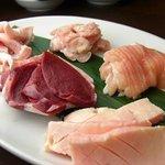 焼肉グレート - ホルモン5品盛り(1580円) 超定番です!