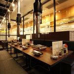 焼肉グレート - 団体様はガラスで仕切られた半個室がGOOD!