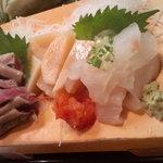 かわなみ鮨 - (2010/10)秋刀魚、平貝、平目