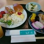 ゆふいん七色の風 - 料理写真:七色の風 朝食