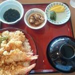 魚あら - 活天丼