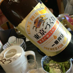 屋形船 あみ達 - キリンの東京づくりの瓶ビール