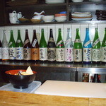 ST - 陳列している日本酒 1