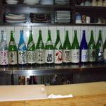 ST - 陳列している日本酒 2