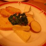 カサ・デ・プラド 小岩井 - チーズの盛合せ