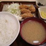 5550615 - カキフライ定食