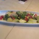 55504808 - 水茄子とトマトのサラダ