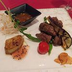 JUNO - メイン(牛肉とフォアグラ)