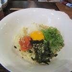 京雀 - 釜玉明太子 790円