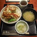 鳥元 - 豪快鶏天丼 ¥750-