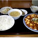 香満城 - 料理写真:麻婆豆腐セット 680円