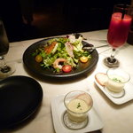 渋谷キリストンカフェ - シーフードサラダ