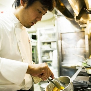 良い食材をシンプルに。旬鮮食材を巧みに操るビストロ料理人