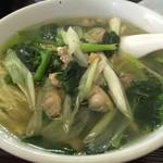二代目彩鳳 - 料理写真:週替わり麺のアサリラーメン
