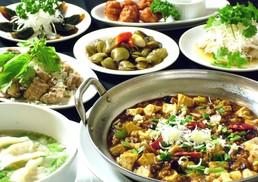 台湾料理故宮 - 台湾小皿料理色々