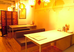 台湾料理故宮 - テーブル席