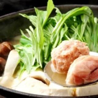 KIJIMA名物鶏鍋(しゃんなべ)☆