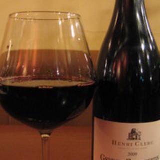 イタリア料理と合うワインを取り揃えています