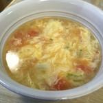 隆福 - トマトとたまごのスープ