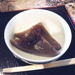 吉田家住宅 - 料理写真:でんがく