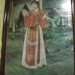 八仙 - 店内のポスター(楊貴妃?)