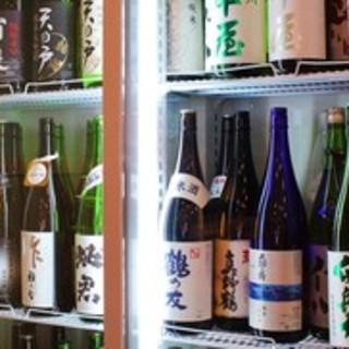 自慢の日本酒はお好みをご提供します★