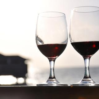 □■樽生ワイン無制限飲み放題■□♪