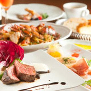 本場仕込みのシェフが作る伝統イタリア料理をお楽しみください