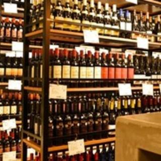 ●ワインに囲まれた空間で乾杯♪