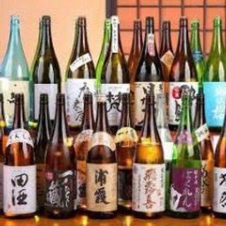 獺祭も飲める47都道府県地酒飲み放題。自家製日本酒サングリア