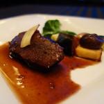 55558227 - 香川オリーブ牛の赤ワイン煮込み 温野菜添え