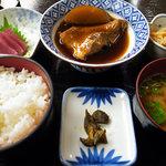 磯料理 喜良久亭 - Bランチ・赤魚の煮付け