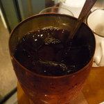 ティーハウス ムジカ - ☆冷んやり紅茶は銅製のグラスです!(^^)!☆