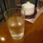 ティーハウス ムジカ - ☆お水グラスはこんな感じです(^v^)☆