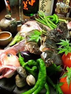 石慶 - 夏の食材。