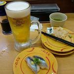 スシロー - 料理写真:ビール@回転寿司