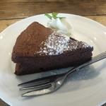 グローカルカフェ - ガトーショコラ