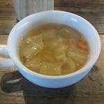 グローカルカフェ - コンソメスープ