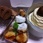 5557700 - 究極のモンブラン/ミルクチョコレートケーキ/キャラメルバナーヌ