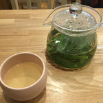 お野菜カフェ アトリエラムカーナ - レモングラスのハーブティー