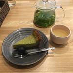お野菜カフェ アトリエラムカーナ - ケーキセット800円