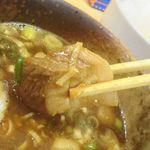 麺屋 楓華 - 厚切りチャーシュー
