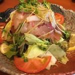ぶんぶく茶屋 - 魚サラダ(^_^)