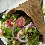 阿具楽 - 彩りブーケサラダ