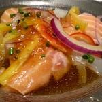 阿具楽 - 鮮魚のカルパッチョ