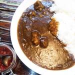 韓国家庭料理 家族 - 和牛スジカレー