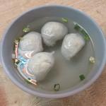 集品蝦仁飯 - 魚丸湯(25元)
